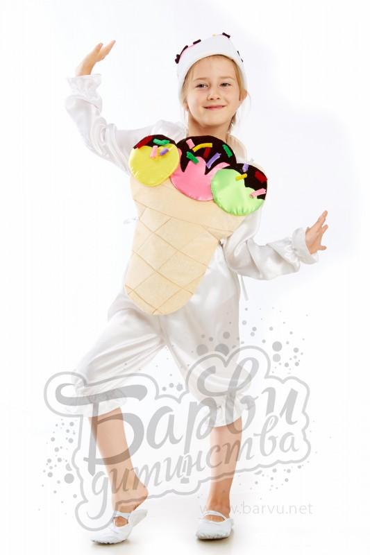 Костюм мороженого для мальчика своими руками