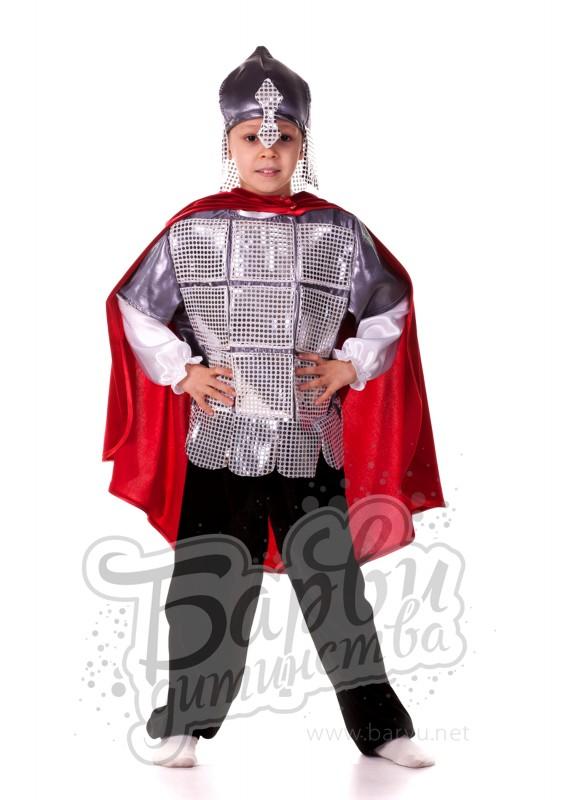 Новогодний костюм русский богатырь своими руками